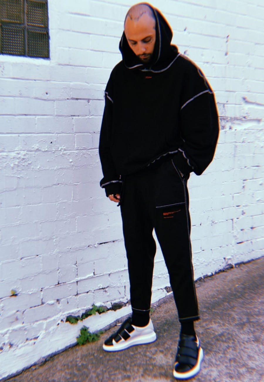 pitchblack by shade hoodie and pants