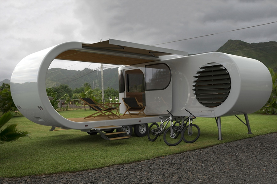 The Romotow Caravan Will Blow Your Mind