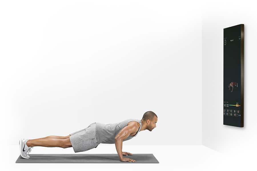 push up mirror gym