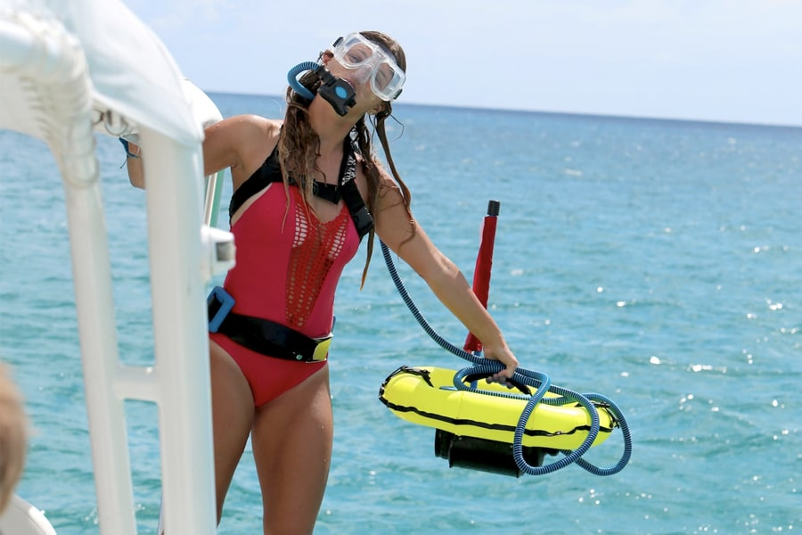 blu3 world's smallest diving system nemo