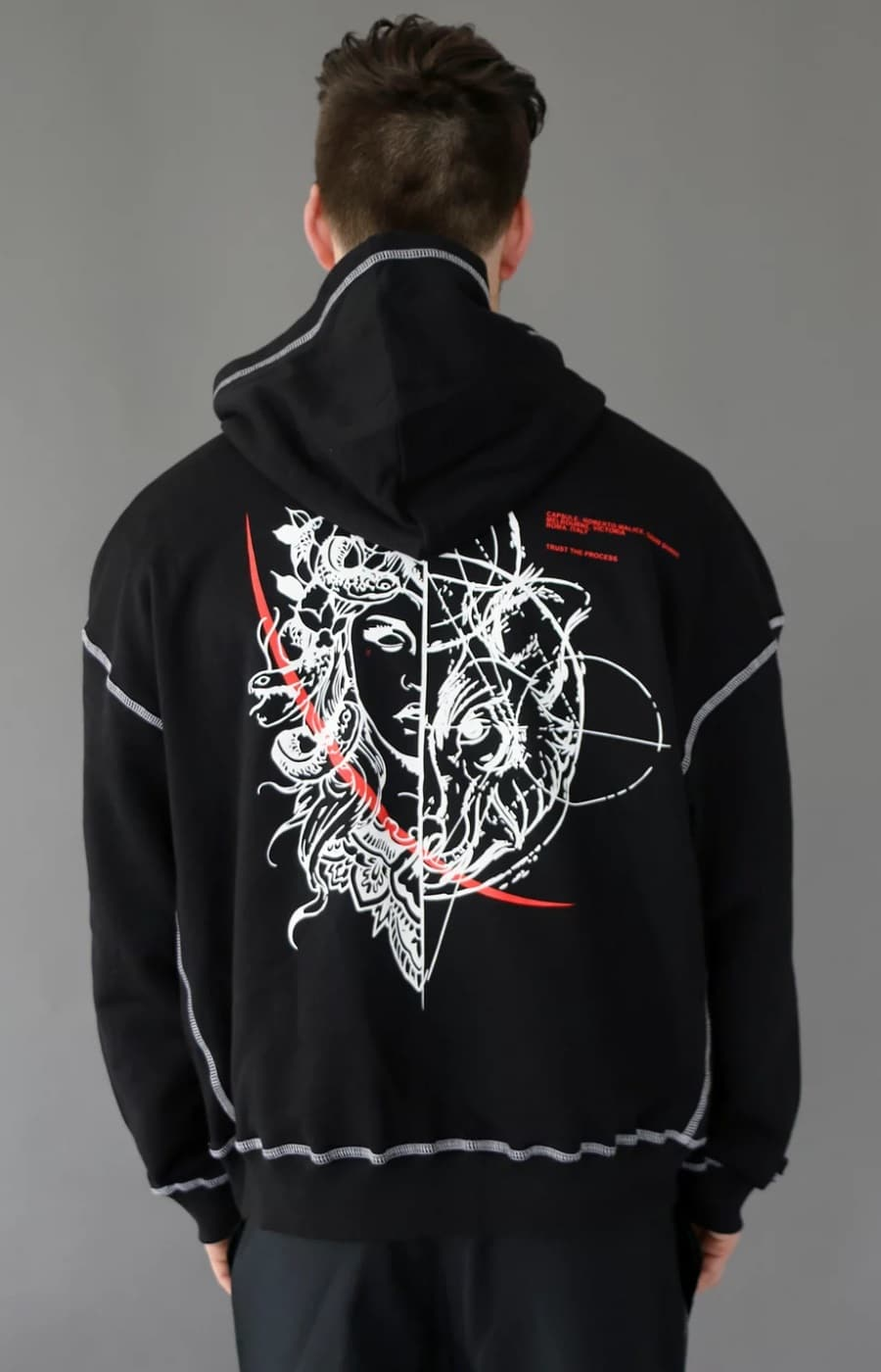 pitchblack by shade malice hoodie
