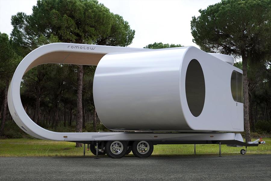 romotow caravan road concept