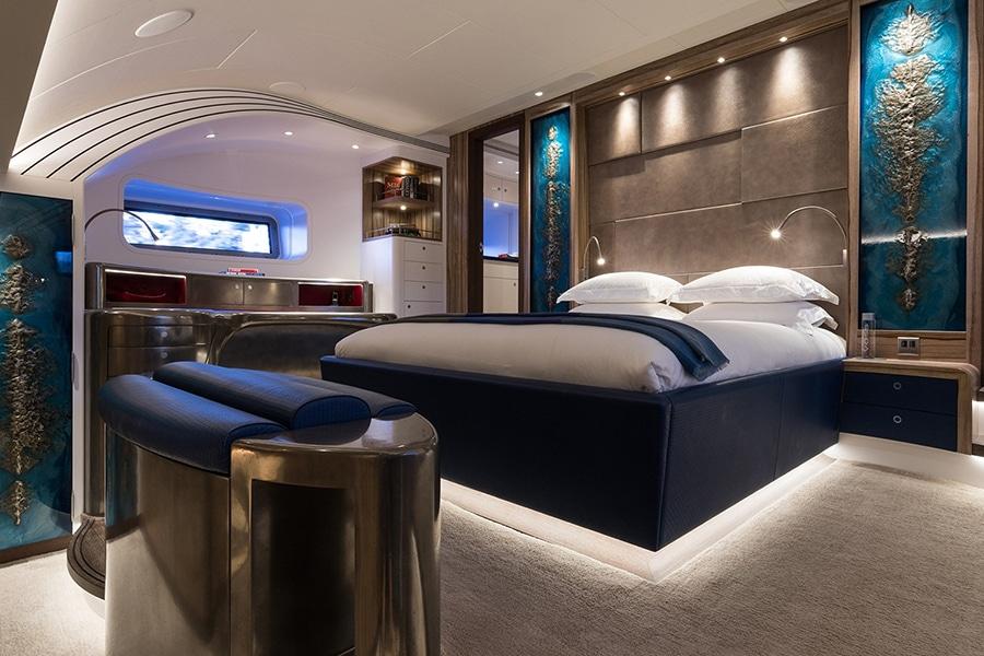 royal huisman bedroom area