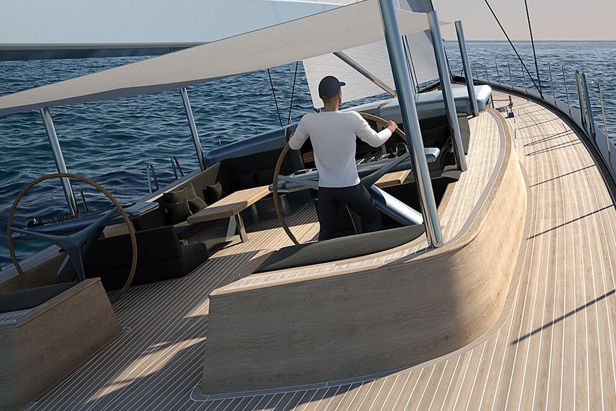 deck yacht royal huisman drive