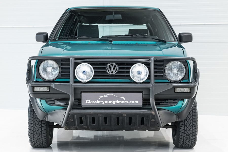 The Unconventional Volkswagen Golf Syncro Country is
