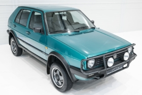 unconventional volkswagen golf syncro