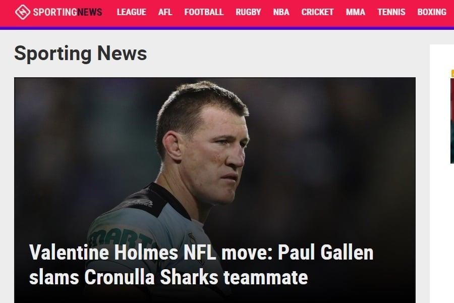 sporting news australia