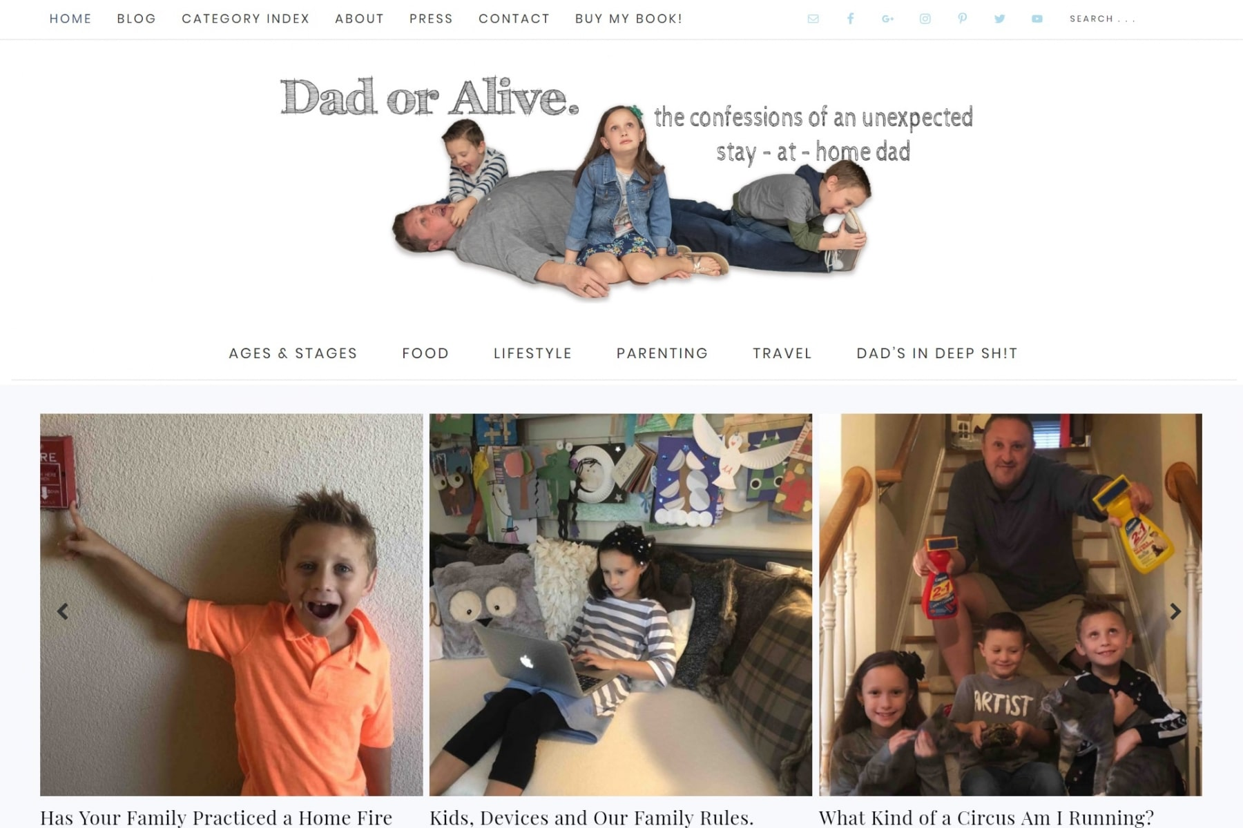 dad or alive best website