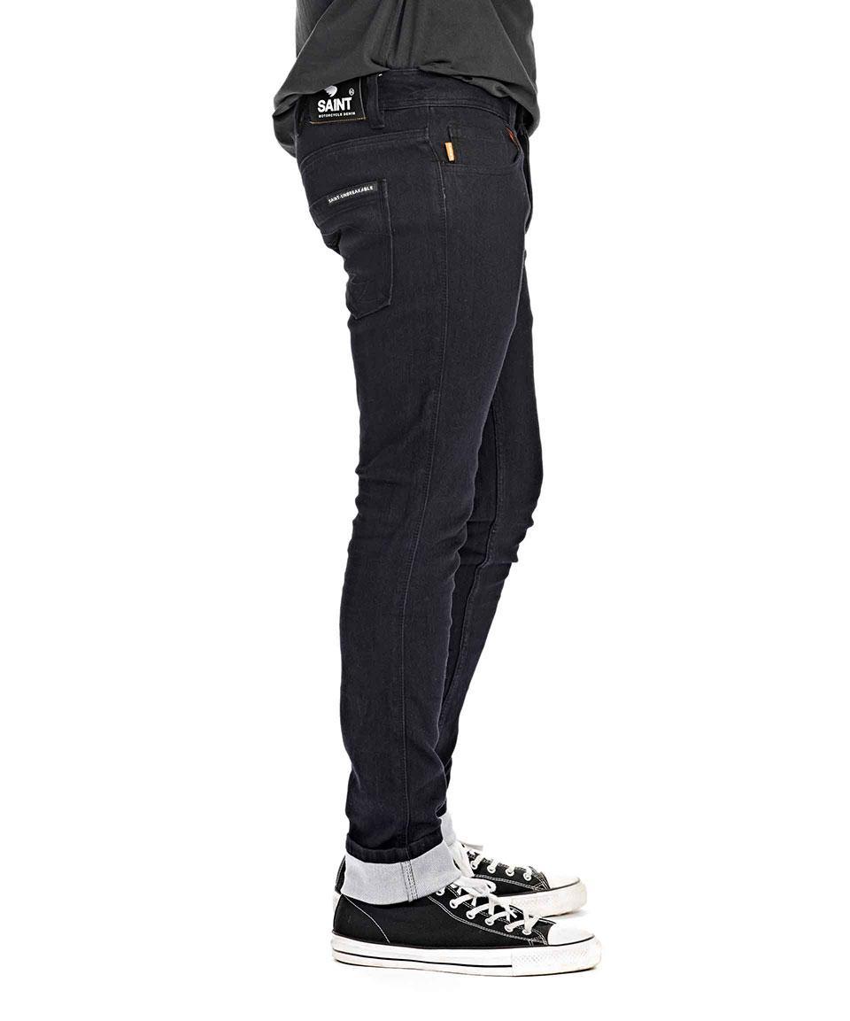 tested saint's motorbike denim jeans