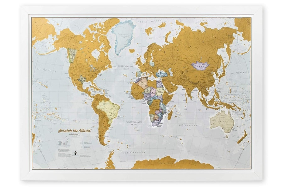 scratch the world scratch off world map