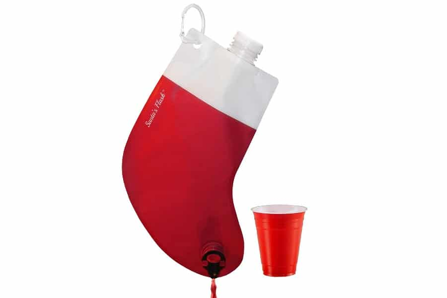 party flasks santa's flask for liquor