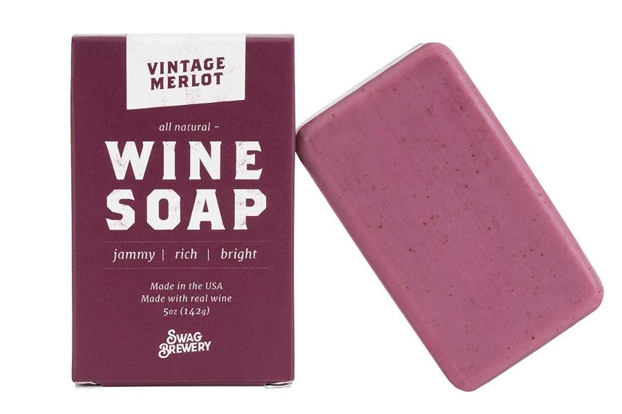 swag brewery vintage merlot wine soap