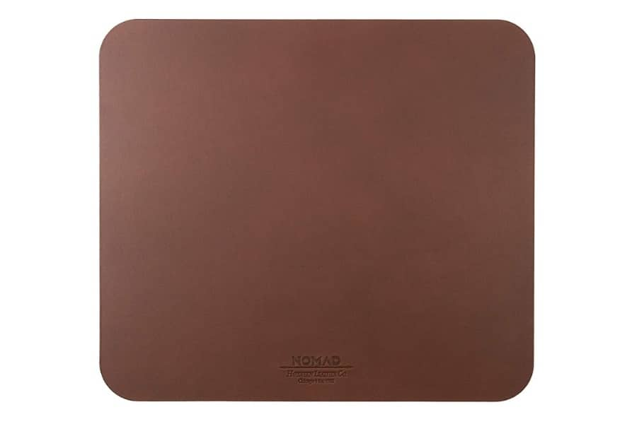 nomad horween leather mousepad