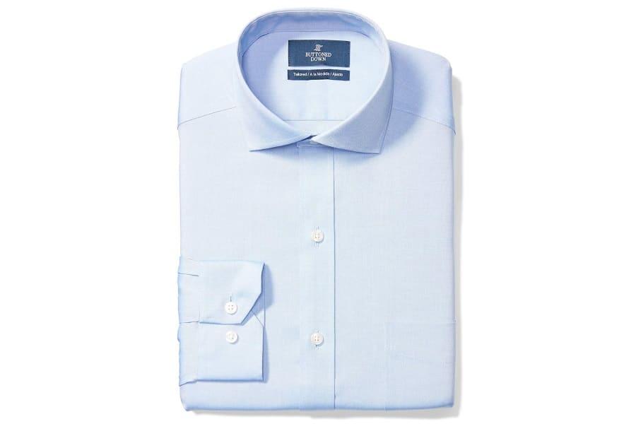 men's tailored fit cutaway shirt