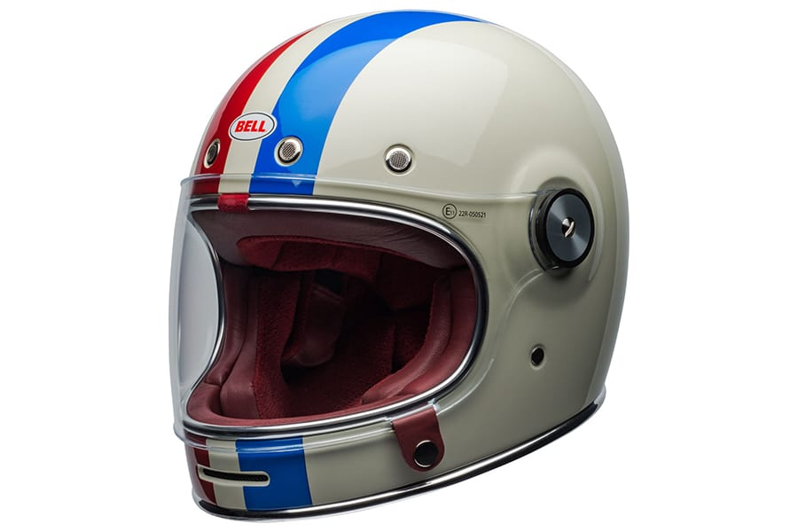 side view bell vintage helmet