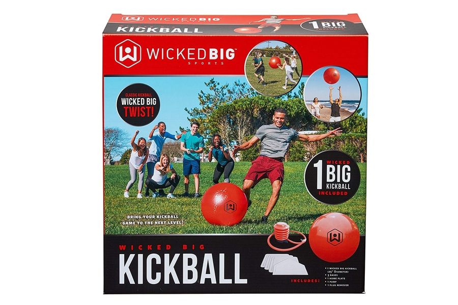 wicked big sports supersized kickball