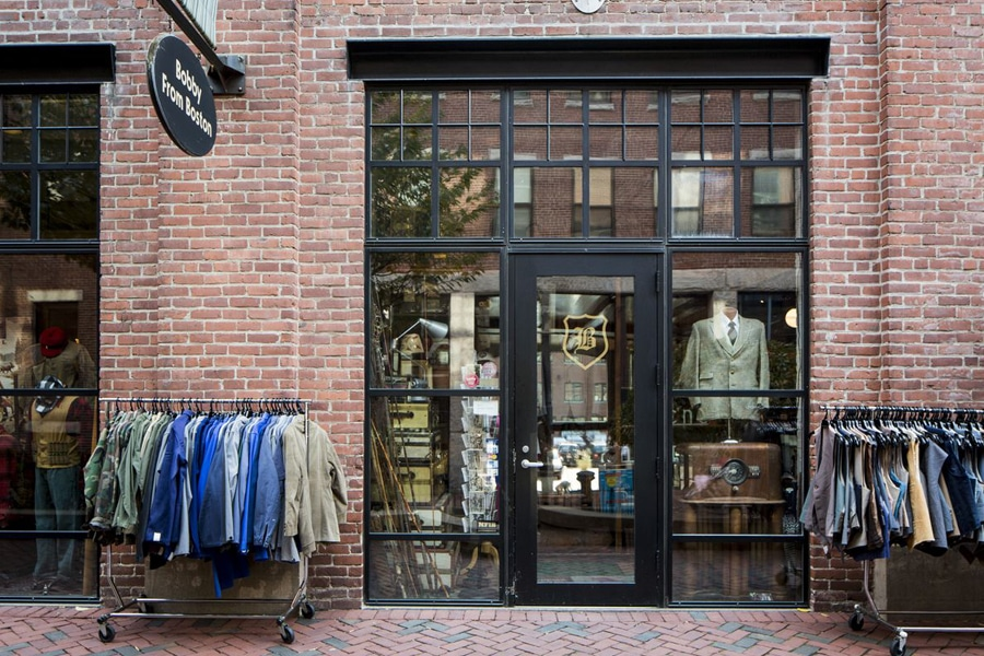 vintage mens and womens clothing boston