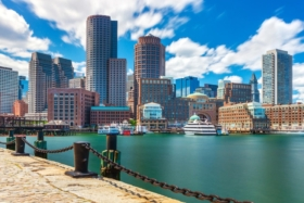 boston harbour view