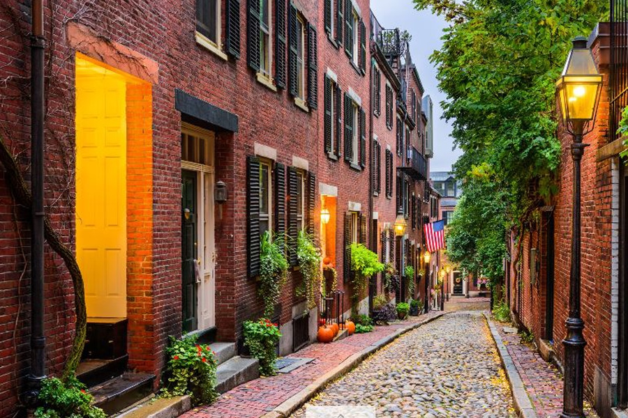 back bay cobblestone streets boston city guide