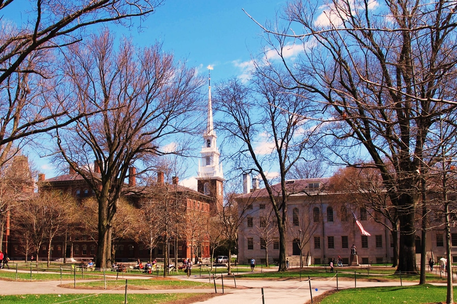 harvard university campus in boston city guide