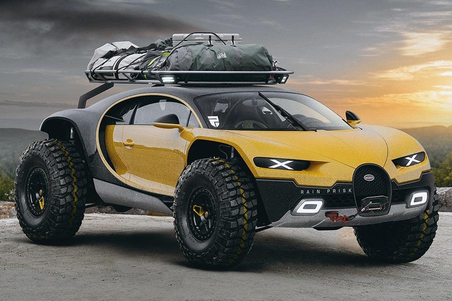 bugatti chiron off road edition