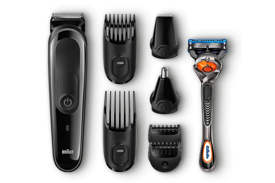 braun men's beard trimmer