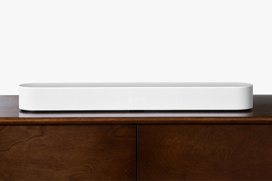 sonos beam sound bar with amazon alexa