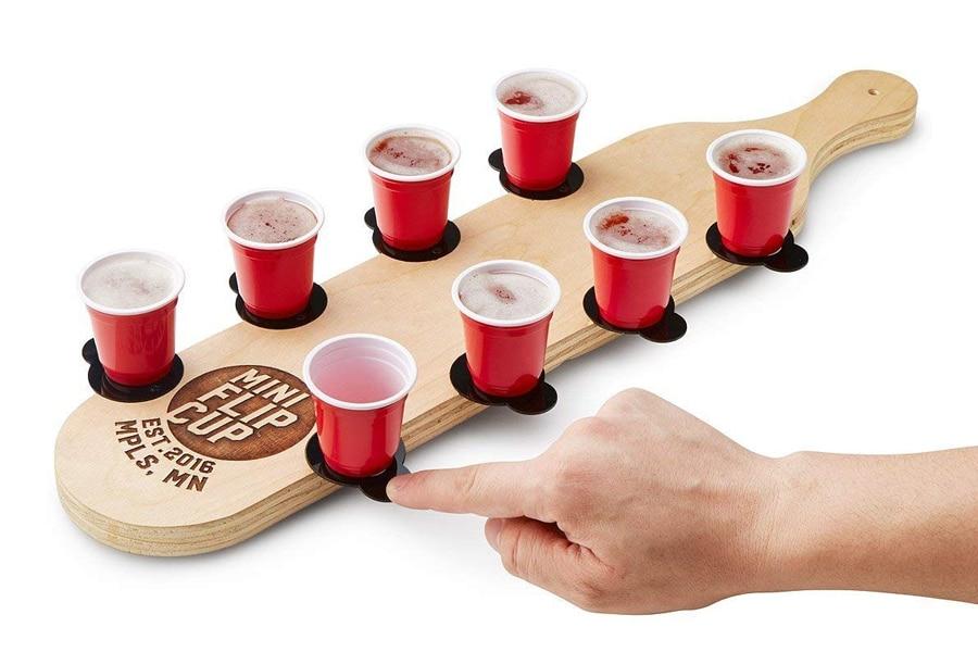 mini flip cup game