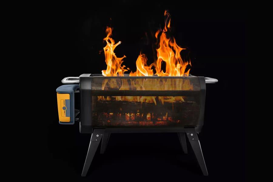 biolit firepit + solar cover bundle