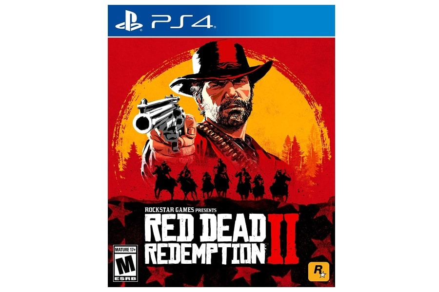 red dead redemption 2 cover art