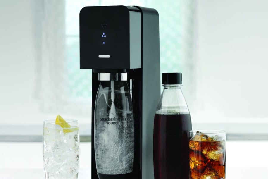 sodastream source sparkling water maker starter kit