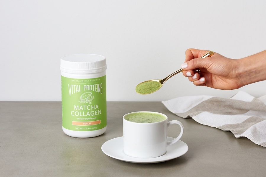 vital proteins matcha collagen supplement