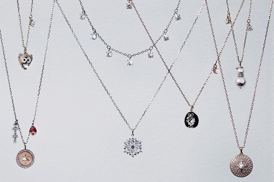 swarovski selection of pendants