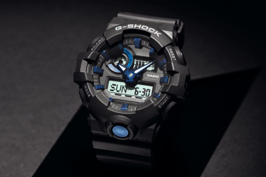 unbreakable g shock watch sub dials