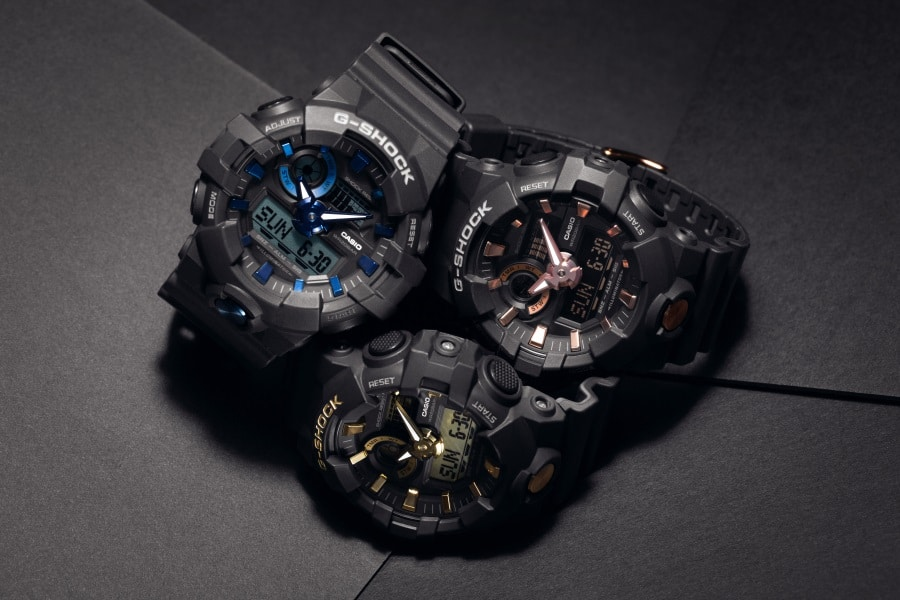 unbreakable g shock watch three collection