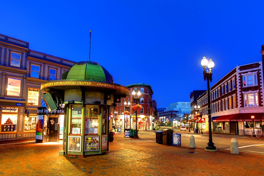 harvard square cambridge massachusetts city guide