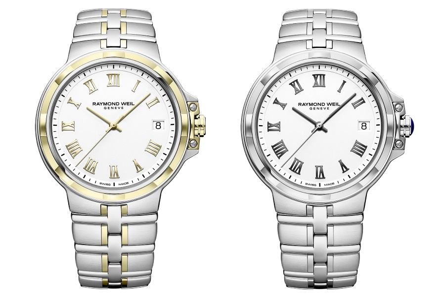 raymond weil revisits silver gold
