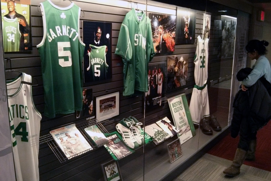 boston sports museum celtics