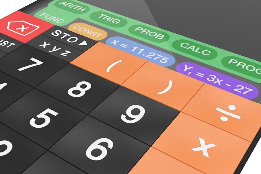 touchcal touchscreen calculator keypad