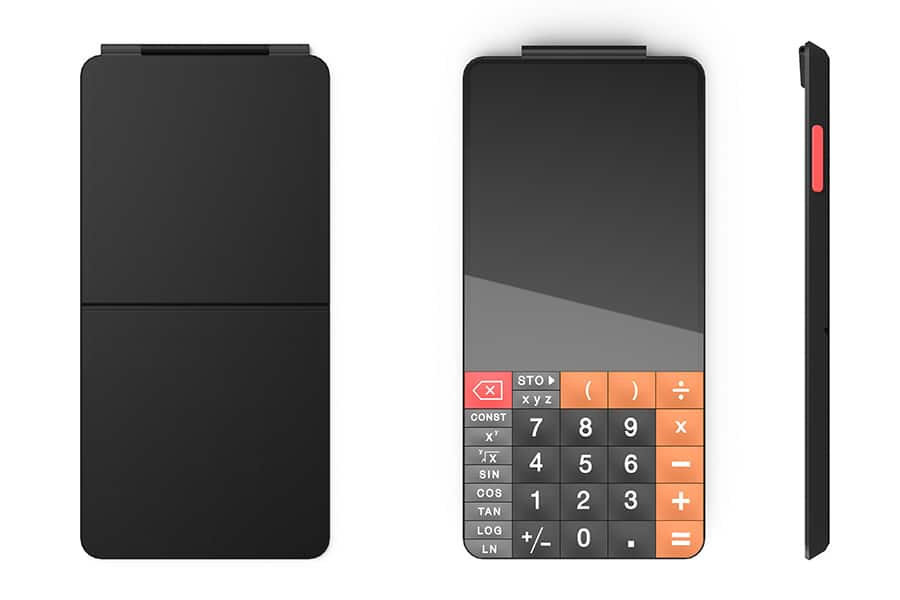 touchcal touchscreen calculator all over view