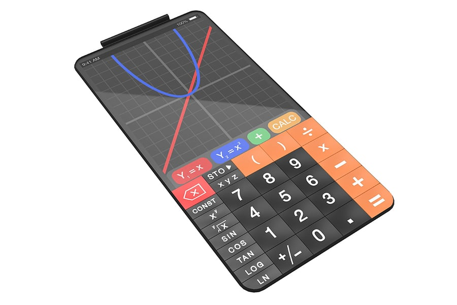 scientific calculator touchcal display