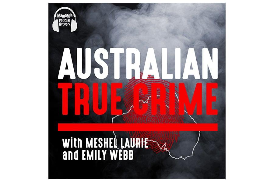australian true crime podcast cover