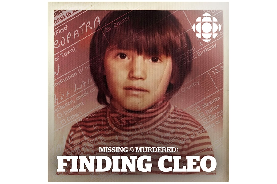 missing and murdered finding cleo podcast cover