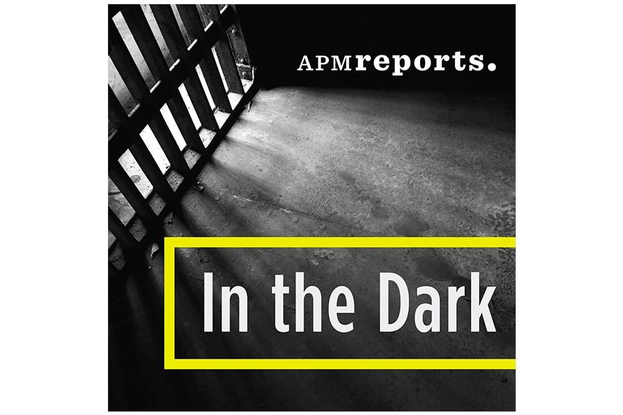 in the dark podcast cover