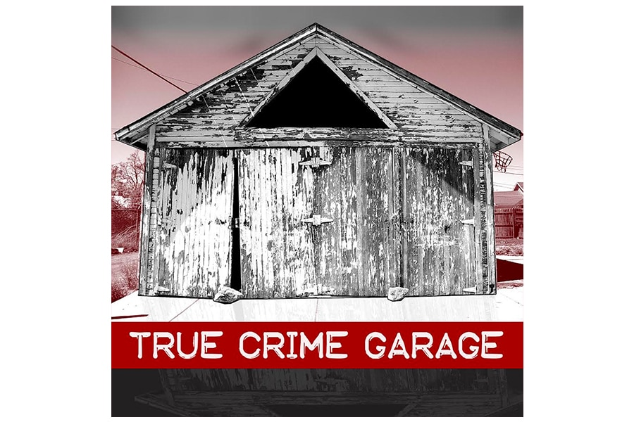crime garage podcast cover