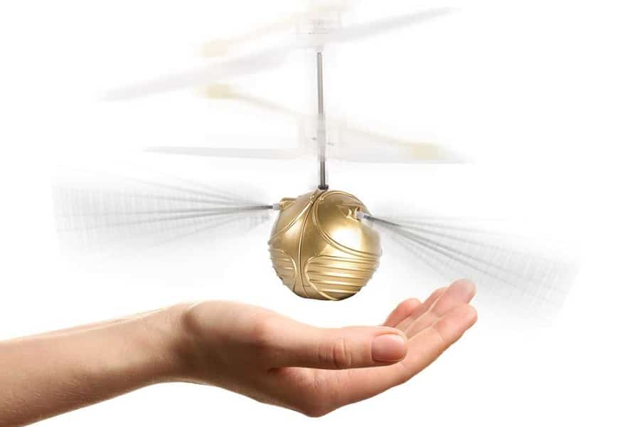 wow! stuff collection harry potter golden snitch heli ball
