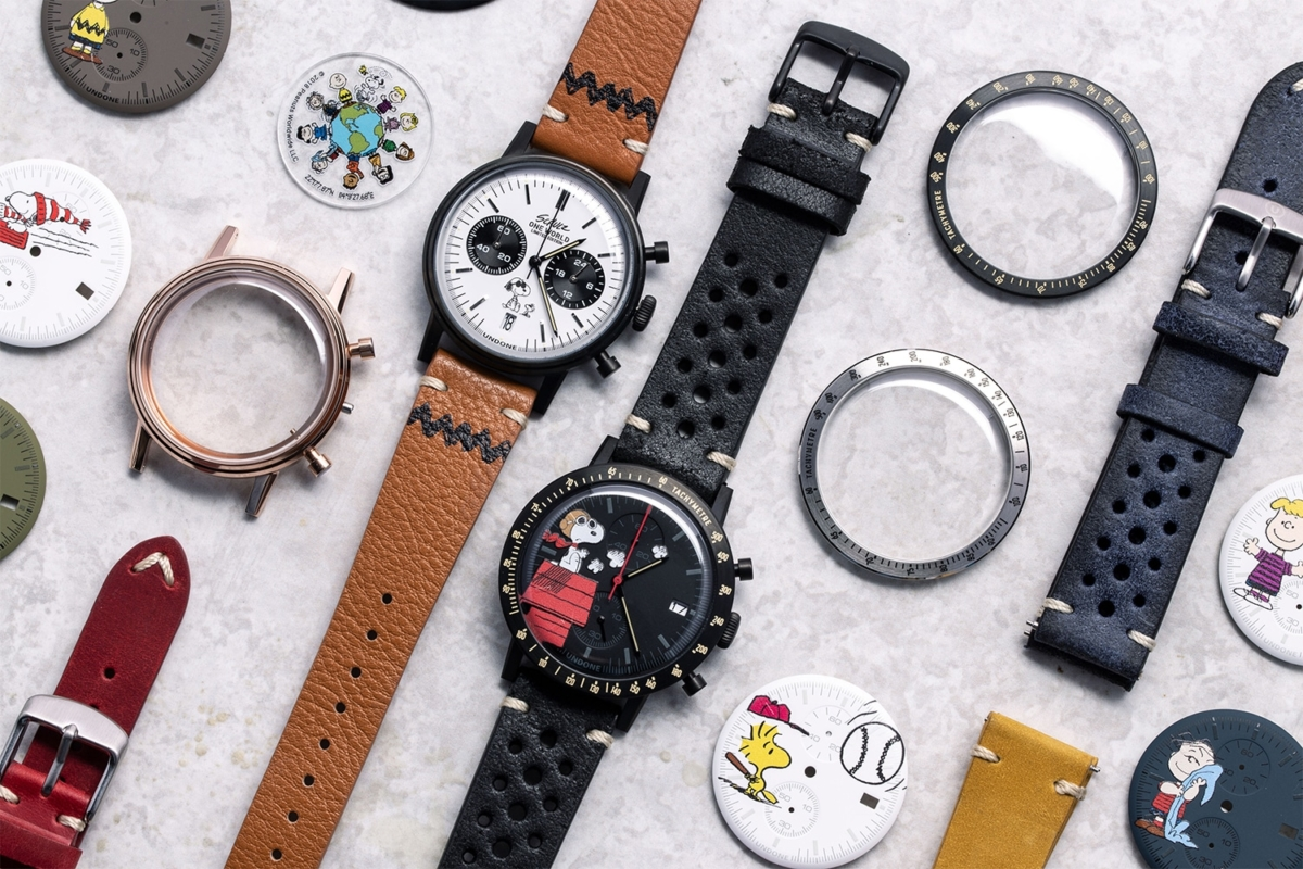 undone x peanuts watch collection