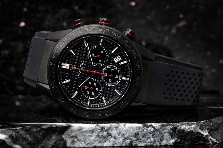 A Vincero Apex Watch on a wrist