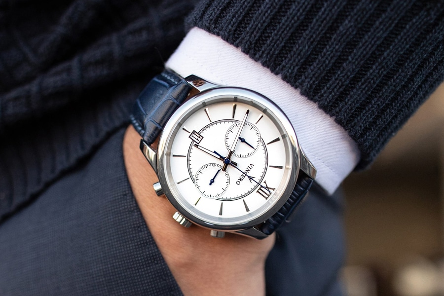vincero the bellwether in silver & white