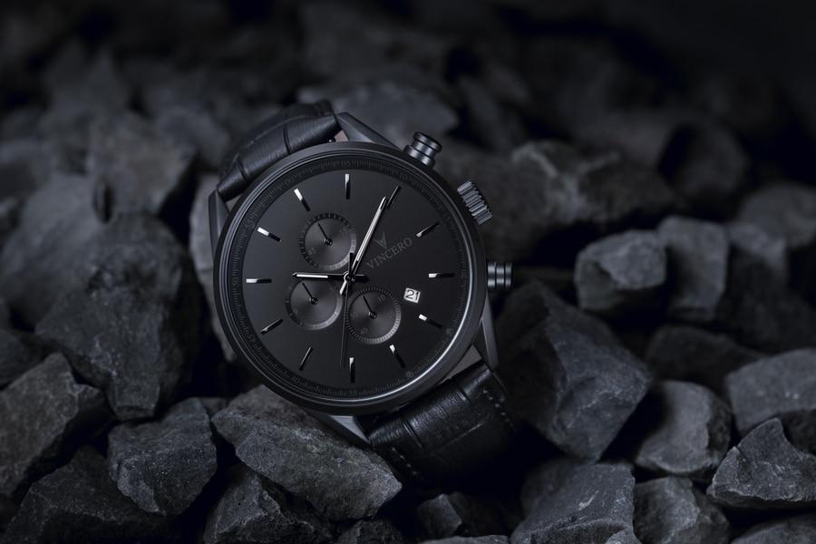black on rock vincero watch